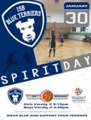 ISB Spirit Day on Tuesday, January 30th