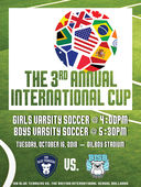 International Soccer Cup - Tuesday, Oct. 16, 2018
