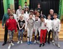 ISB Middle School Coed Fencing Team - Feb. 14th