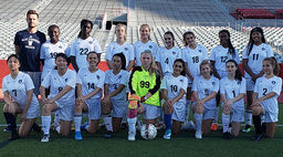 ISB Varsity Girls Soccer Team in the Girls Independent League Playoffs - Nov. 5th