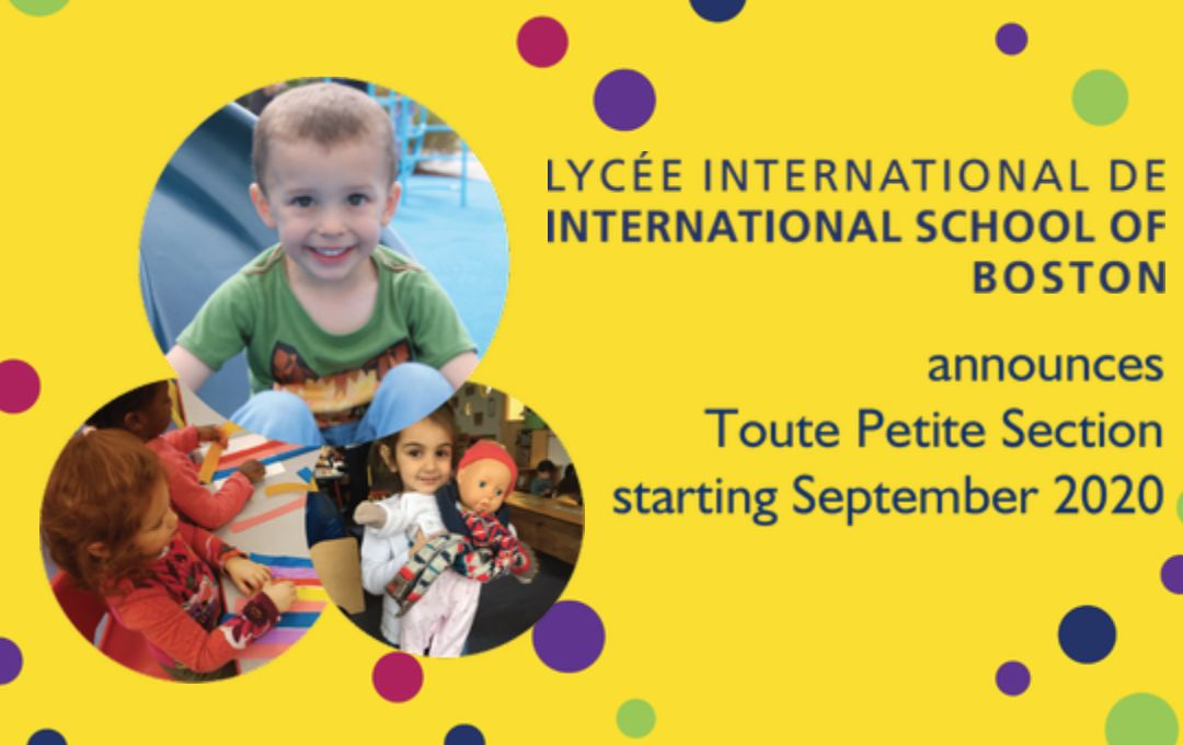 📢 New at ISB in September 2020: Toute Petite Section!